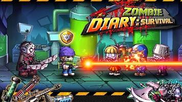 Screenshot of Zombie Diary