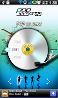 Screenshot of POP HitSongs - Lite-