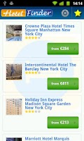 Screenshot of Hotel Finder - Book Hotels