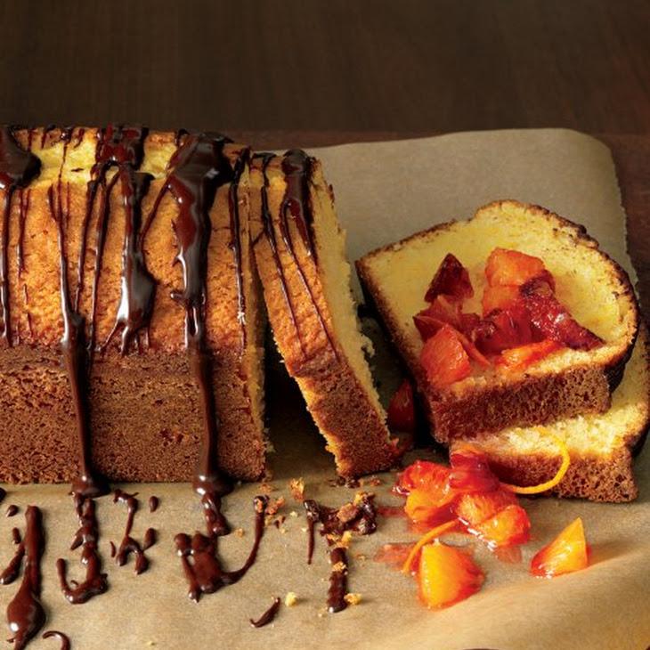 Orange-Scented Olive-Oil Cake with Orange Compote and Ganache Recept ...