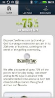 Screenshot of Discount Tee Times