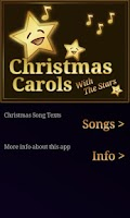 Screenshot of Christmas Songs Lyrics