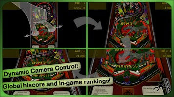 Screenshot of Dino Madness Pinball Lite