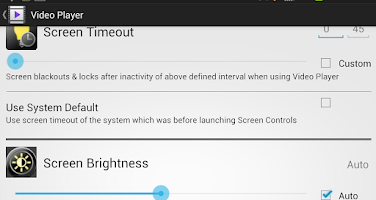 Screenshot of Screen Controls pro
