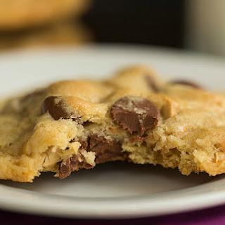 Sea Salt, Cashew and Milk Chocolate Chip Cookies
