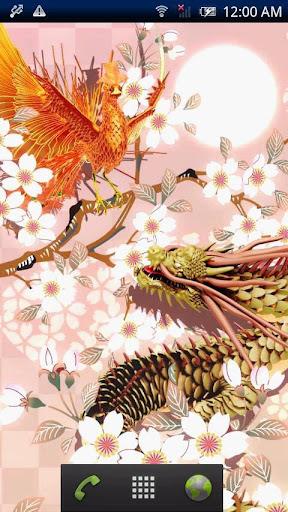 龍神×朱雀【和桜】