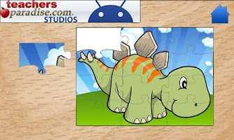 Screenshot of Dinosaurs Jigsaw Puzzles