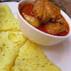 Roti Jala with Curry Chicken & Potato