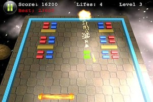 Screenshot of Block Smasher Free Hit Bricks