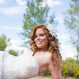 Alexis by Brooke Green - Wedding Bride ( wedding, bridal portraits, outdoor, denver, bride )