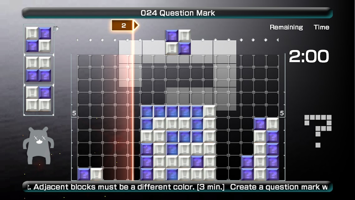 Lumines Live to help save the planet