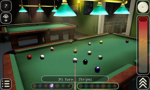 3D Pool game - 3ILLIARDS - screenshot
