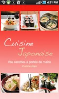 Screenshot of iCuisine Japonaise
