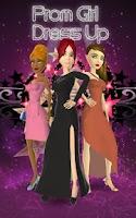 Screenshot of Prom Night - Dress Up Game