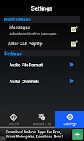 Screenshot of Real Call Recorder