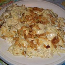 Easy Turkey Tetrazzini