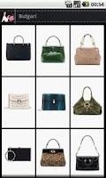 Screenshot of Shoes + Bags fashion