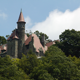Castle overlooking the Hudson by Alec Halstead - Buildings & Architecture Other Exteriors