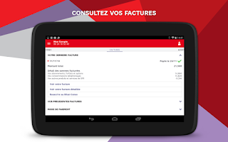 Screenshot of SFR Mon Compte