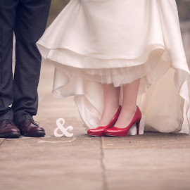 You & Me by Alicia Clifford - Wedding Bride & Groom ( bride and groom )