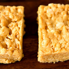 White Chocolate & Peanut Butter Rice Krispies Treats