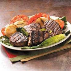 Beef Filets with Grilled Vegetables