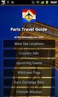 Screenshot of Paris Offline Travel Guide