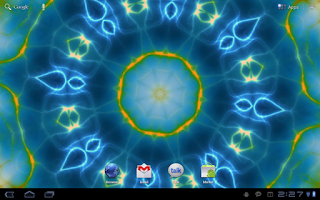 Screenshot of Prismatic Live Wallpaper