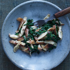 Swiss Chard with Shiitake Butter