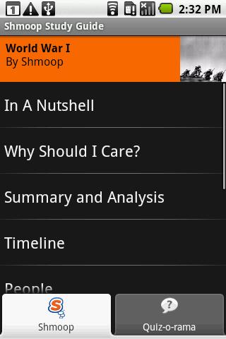 World War I: Shmoop Guide