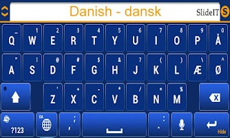 Screenshot of SlideIT Danish Pack
