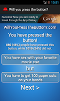 Screenshot of Will you press the button?