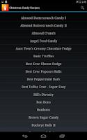 Screenshot of Candy Recipes