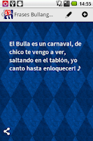 Screenshot of Frases Bullangueras
