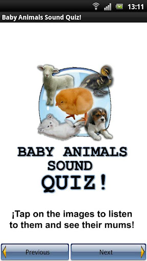 Baby Animals Sound Quiz