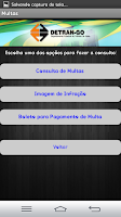 Screenshot of Detran - Goiás