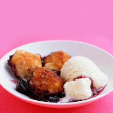 Cherries with Cinnamon Dumplings