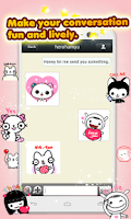 Screenshot of My Chat Sticker EMOJI 2