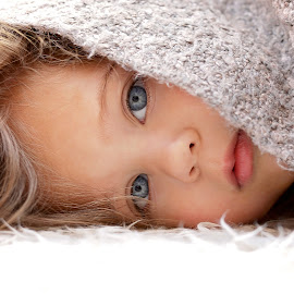 Hiding by Lucia STA - Babies & Children Child Portraits