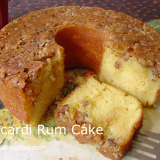 The Original Bacardi Rum Cake