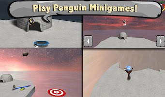 Screenshot of Penguin Village