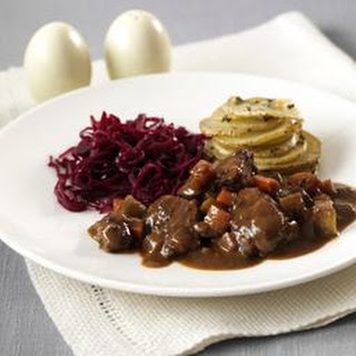 Lamb, Red Wine And Rosemary Casserole