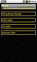 Screenshot of Nux Radio (Deprecated)
