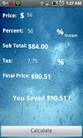 Screenshot of The Discount Calculator