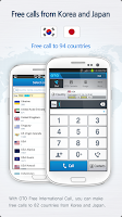 Screenshot of OTO Free International Call