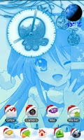 Screenshot of Kawaii Christmas Go Launcher