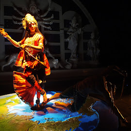 Idol of Durga 1 by Debojyoti Ghosh - Artistic Objects Other Objects