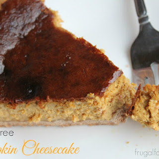 Sugar-Free Pumpkin Cheesecake