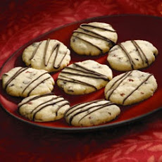 Cherry Chocolate Shortbread Cookies