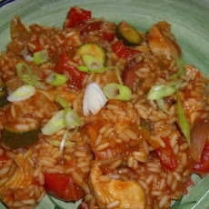 Sausage and Chicken Jambalaya Stirfry